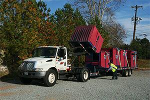 Dumpster Al Truck